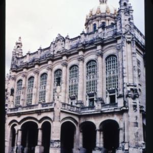 Exterior of the Palacio Presidencial (Museo de la Revolucion) in Havana, Cuba