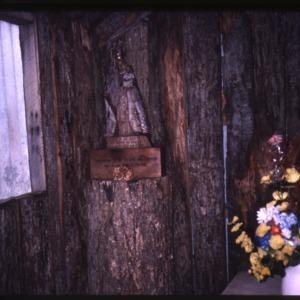 Interior of chapel at Cape Horn