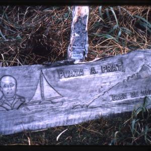 Sign at Prat Park, Cape Horn