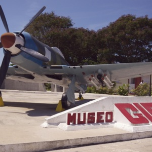 Airplane on display at Museo Girón (Bay of Pigs Museum)