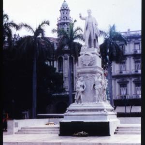 Jose Marti Monument in Parque Central